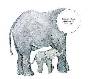 Adesivo de Corpo Elefante