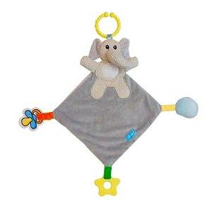 Naninha Elefante Cinza para Bebe Clingo