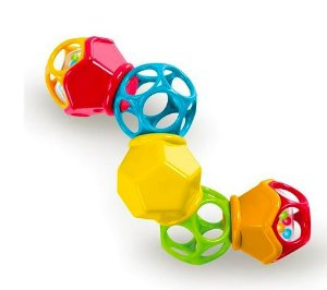 Brinquedo Clicky Twister Rattle - Oball