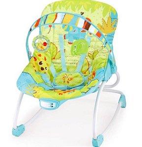 Cadeira de Descanso Vibratoria e Musical Rocker Verde - Mastela