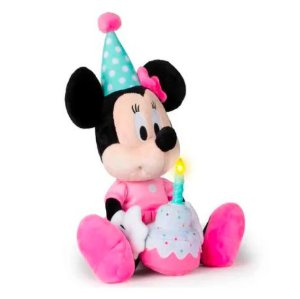 Pelúcia Minnie Happy Birthday