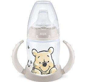 Copo de Treinamento  Nuk First Choice Disney Classic 150 ml Pooh Cinza e Branco
