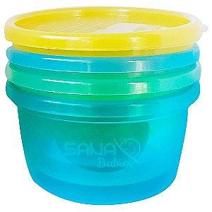 Potes Sana Multiuso Azul 236 ml  -4 unidades