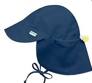 Chapeu de Banho Australiano Azul Marinho P ( 2 - 4 anos) FPS 50+