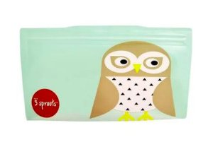 Snack Bag kit com 2 unidades Coruja