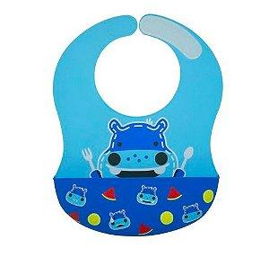 Babador Cobertura Total XL Hipopotamo