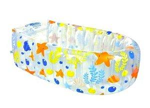 Banheira Infantil Piscina Inflável Nemo New Cristal 0 A 6 Meses Burigotto