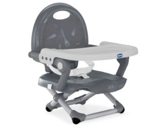 Cadeira de Alimentação Pocket Snack Dark Grey - Chicco