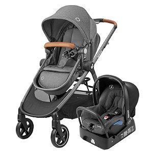 Carrinho de Bebê Travel System Anna2 Trio Sparkling Grey - Maxi-Cosi