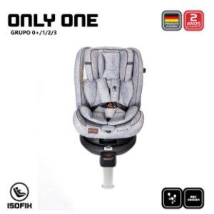 Cadeira de Carro Only One Graphite - ABC Design