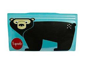 Snack Bag Kit com 2 unidades Urso