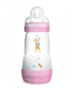 Mamadeira Easy Start 260ml Rosa - MAM