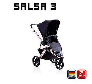 Carrinho de Bebê Travel System Salsa 3 Rose Gold - ABC Design