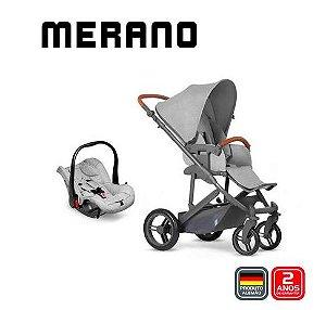 Carrinho de Bebê Travel System Merano Duo Woven Grey - ABC Design