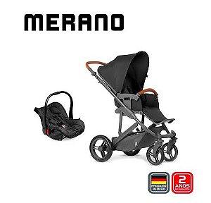 Carrinho de Bebê Travel System Merano Duo Woven Black - ABC Design