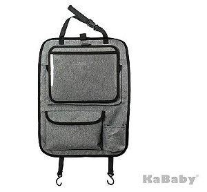 Organizador para Carro com Suporte para Tablet Destacável - Kababy