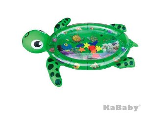 Tapete de Agua Inflável Divertido Tartaruga