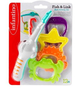 Brinquedo de Banho Pescaria