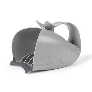 Baleia  Moby para Enxágue Cinza- Skip Hop