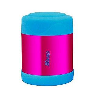 Pote Termico Inox Azul Rosa Clingo