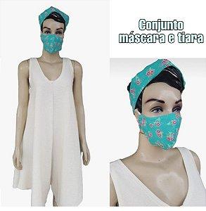 Conjunto máscara + tiara