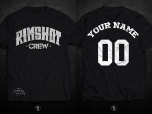 Rimshot Crew by Fernando Schaefer - Camiseta Custom