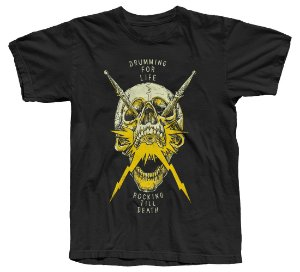 Koolstage Skull Drums - Camiseta