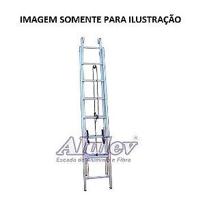 Escada Alumínio Extensível 8,70 M (Alulev)