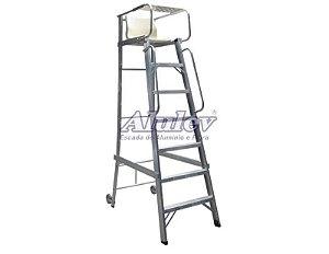 Escada Alumínio Juiz  06 Degraus 2,06 M (Alulev)