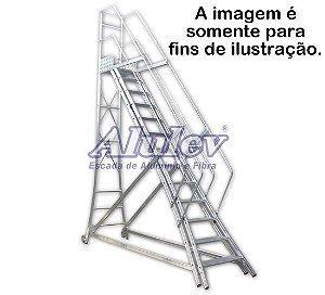 Escada Alumínio Trepadeira 4,40 m (Alulev)