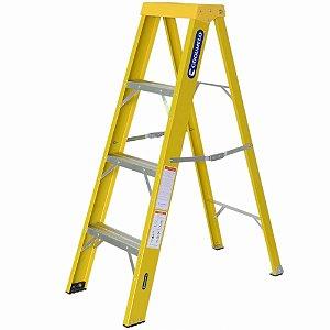 Escada Fibra Americana 03 Degraus (Cogumelo)
