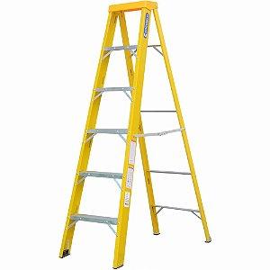 Escada Fibra Americana 05 Degraus (Cogumelo)