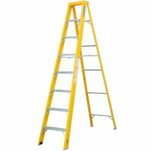 Escada Fibra Americana 07 Degraus (Cogumelo)