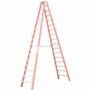 Escada Fibra Pintor 18 Degraus 5,55 m (Cogumelo)