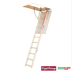 Escada Madeira Alçapão Sótão 0,70 x 1,20 x 2,80 OLE (Fakro)