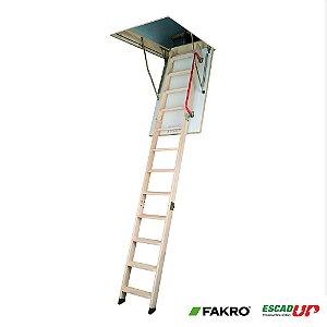Escada Madeira Alçapão Sótão 0,70 x 1,20 x 2,80  LWK (Fakro)