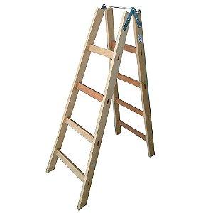 Escada Madeira Pintor Simples N°05 - 1,40 m