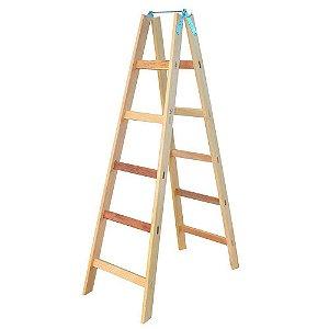 Escada Madeira Pintor Simples N°06 - 1,70 m Elite