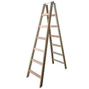 Escada Madeira Pintor Simples N°07 - 2,00 m Elite