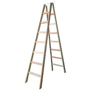 Escada Madeira Pintor Simples N°08 - 2,30 m Elite