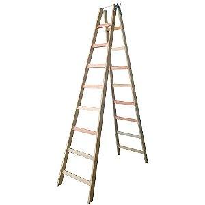 Escada Madeira Pintor Simples N°09 - 2,60 m Elite
