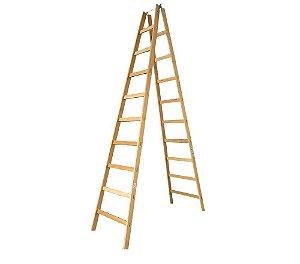 Escada Madeira Pintor Simples N°10 - 2,90 m Elite