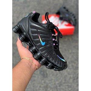 Tênis Nike Shox 12 Molas REFLETIVO Masculino
