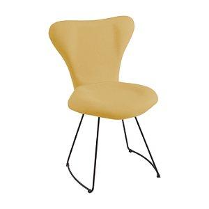 Cadeira Jacobsen  Meia Lua Amarelo