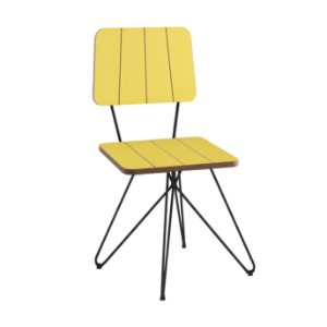 Cadeira Costela B. Butterfly Amarelo