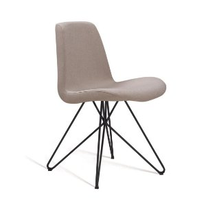 Cadeira Eames Butterfly Bege