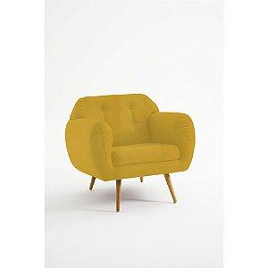 Poltrona Beatle Amarelo
