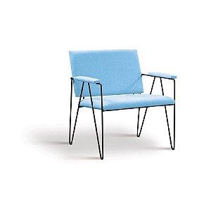 Poltrona Loridane Azul