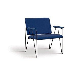 Poltrona Loridane Azul Marinho