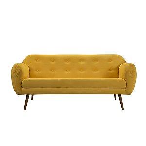 Sofá Beatle 3L Mel T1052 Lir Amarelo